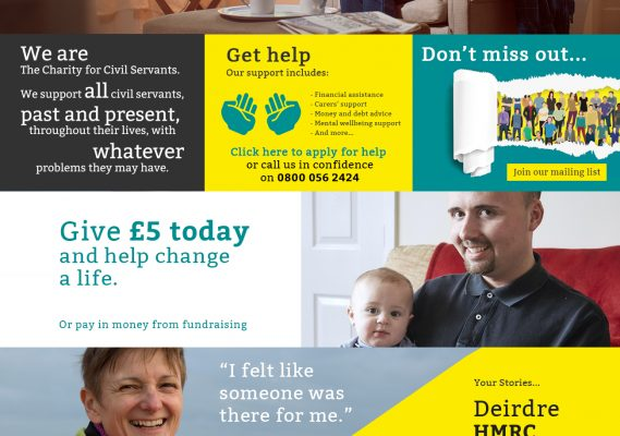 The Charity for Civil Servants – 2018 Homepage Launch 5