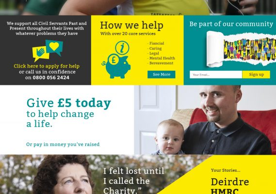 The Charity for Civil Servants – 2018 Homepage Launch 4
